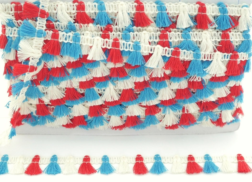 Baby Yellow Tassel Silk Trim Fringe Pendant Bracelet Curtain Scarf Sewing Embellishments Braid Supply 2 Pieces