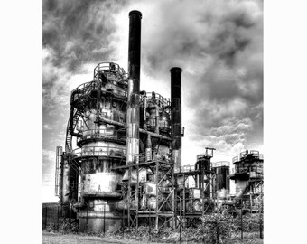 """Gas Works Park, Very Fine Art Black and White Photograph; available in 5x7"""", 8x10"""", 11x14"""", 13x19"""""""