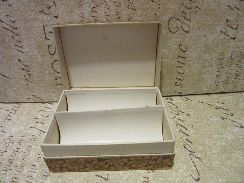 Old Vintage French Trinket Gift BoxesMiniature Rectangular Paper BoxesTrinket BoxesFrench Market FindCovered in Gorgeous French Paper