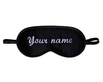 40d4f4ee8 Your Name or Text Sleep Mask