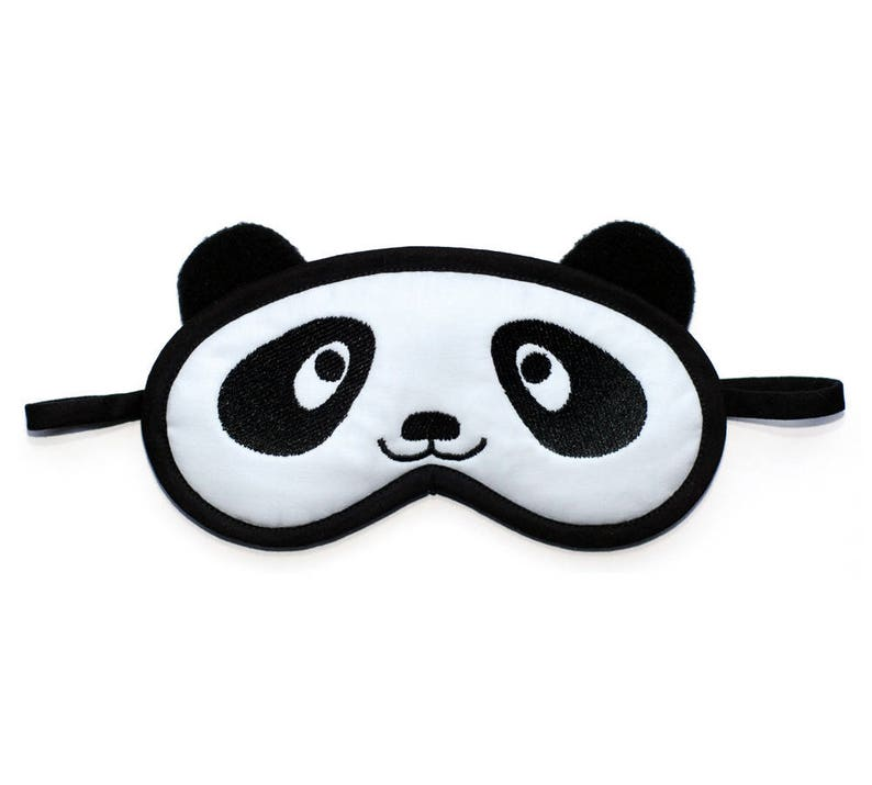 6af62b152fc Panda Sleep Mask Animal eye mask Kawaii bear blindfold