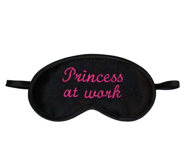 2938206efba Princess at work sleep mask Sleeping eye mask Funny eyemask