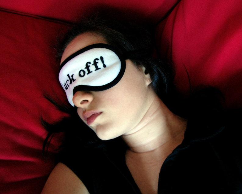 choose silk honeymoon lingerie wedding night eyemask gift under 20 for groom Groom Sleep Mask husband black and white sleeping eye mask