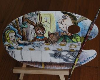 Alice in Wonderland OOAK, painters Palette