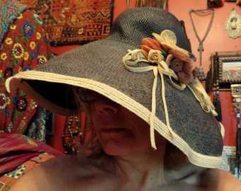 9defb41133963 Fabulous Mona the Mad Hatter Straw Hat