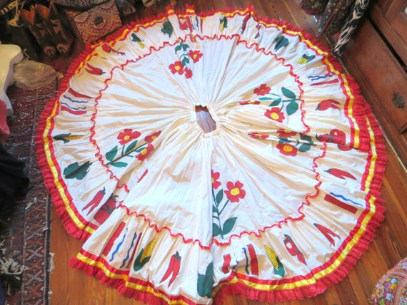 OOAK Vintage Mexican Handmade Harvest Festival Pai