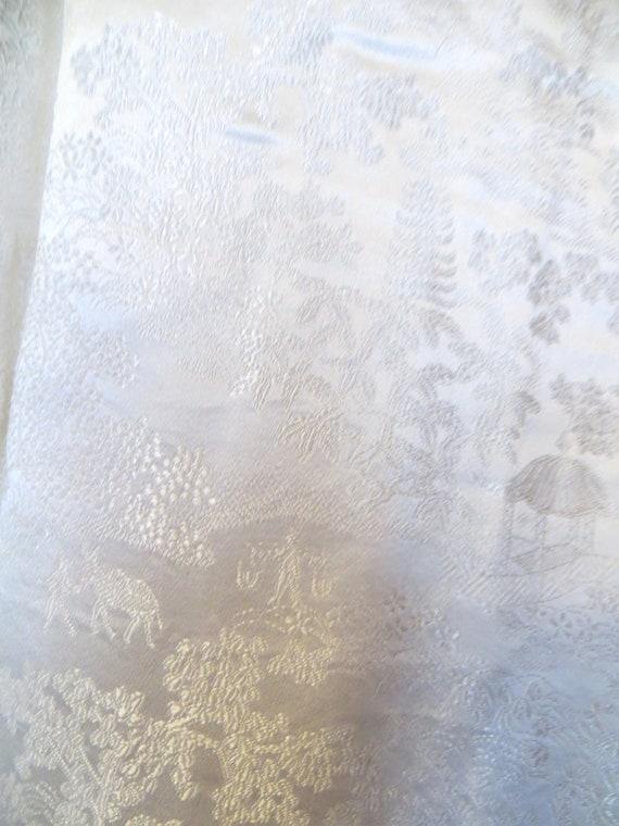 Fab 50s Asian Silk Pajama Set Beach Pajamas/Boudo… - image 7