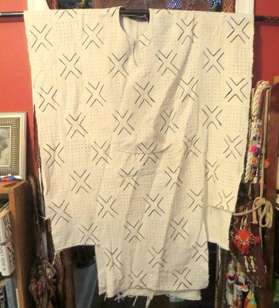 Mudcloth Duster Ethnic Vest Mudcloth Vest Unique Mudcloth Fabric