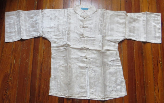 Fab 50s Asian Silk Pajama Set Beach Pajamas/Boudo… - image 2