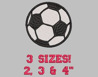 Buy 1 Get 1 Free!  Soccer Ball Embroidery Design Sports Ball Embroidery Design Mini Soccer Ball Embroidery Design Small Soccer Ball Design