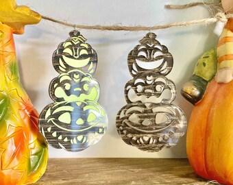 PREORDER: Tiki Pumpkins Pendant Necklace Glow-in-the-dark Halloween Jewelry