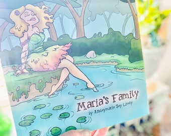 Maria's Family Children's Book Signed by artist and author