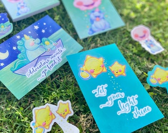Positive Light Collection: Limited Edition Signed Prints, Stickers, Magnets, Postcards, Notepads