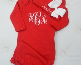 28f35c947db Baby Boy   Baby Girl Coming Home Outfits and by juniegrace on Etsy