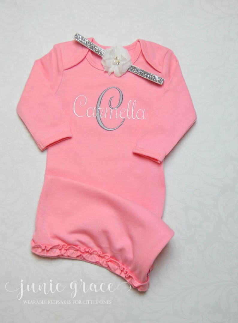 157eaf5c6c421 Newborn Girl Coming Home Outfit Baby Girl Clothes Baby Girl