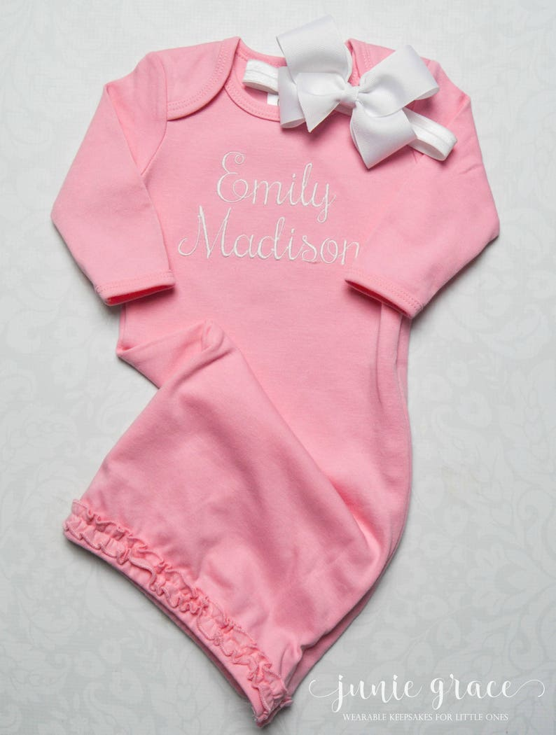 af0dbc42395cd Baby Girl Clothes Baby Girl Coming Home Outfit Baby Girl Gift