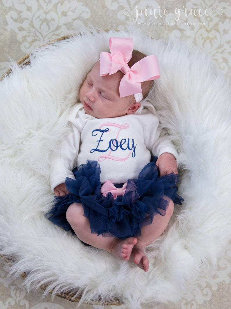 5c025774e6d8f Newborn Girl Coming Home Outfit Newborn Girl Clothes Baby Girl