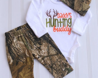Newborn Baby Boy Outfit Baby Boy Clothes Newborn Baby Boy Coming Home Outfit Baby Boy Gift Baby Boy Hunting Outfit  Camo Outfit
