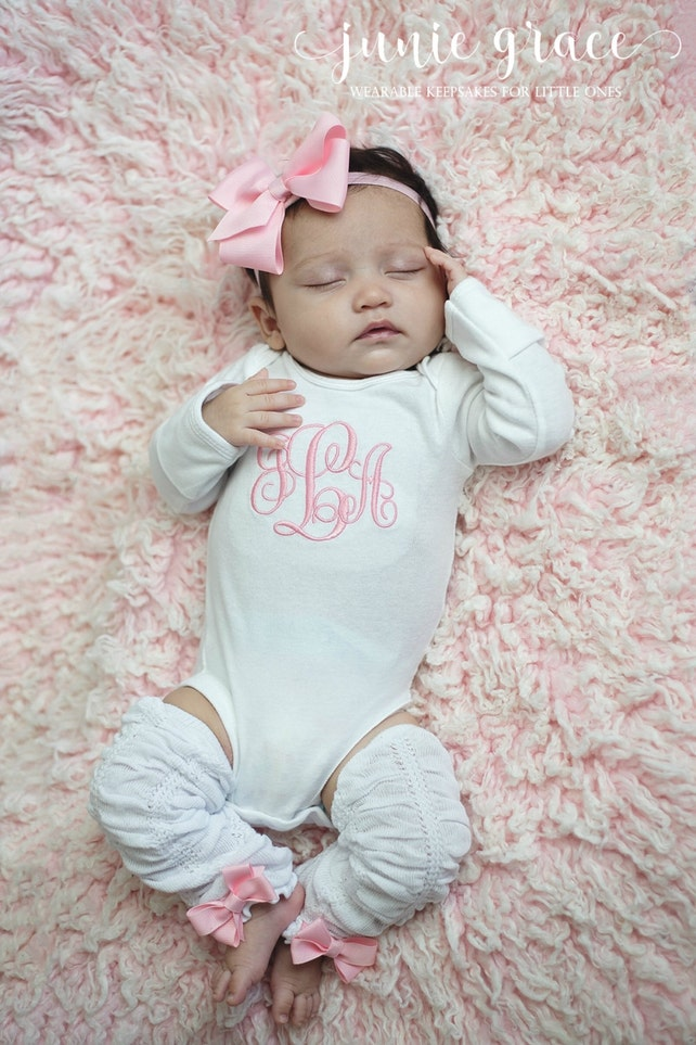 Newborn Girl Coming Home Baby Girl Coming Home Outfit Baby | Etsy