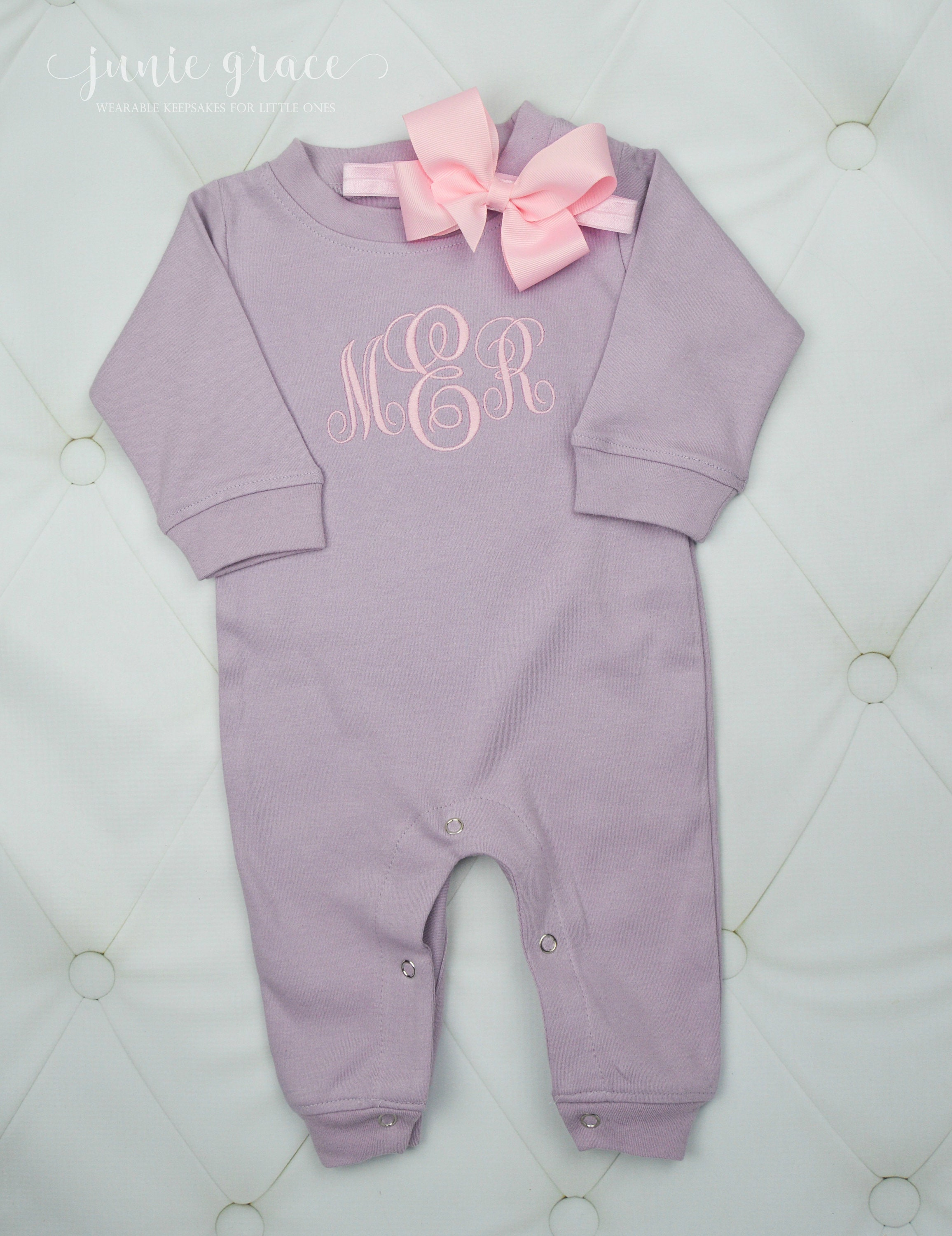 d910574fb05 Baby Girl Coming Home Outfit Baby Girl Clothes Personalized