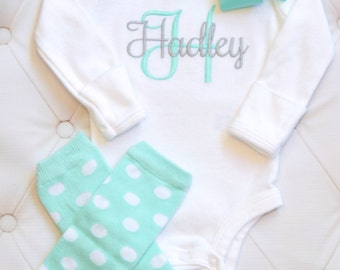 Newborn Girl Coming Home Outfit Baby Girl Coming Home Outfit  Baby Girl Clothes Baby Girl Outfit Baby Girl Gift  Newborn Leg Warmers