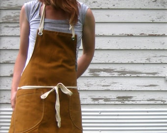 Canvas Utility Apron made to order 7-10 business day processing time