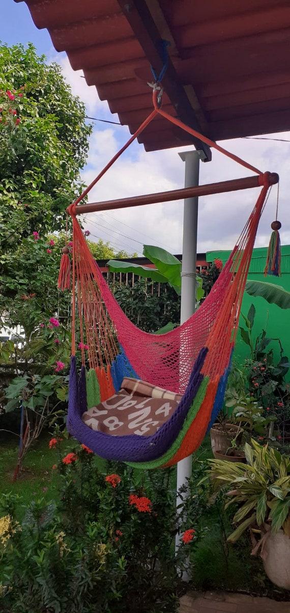 Maribelle Hanging Garden Chair Sitting Tree Swing Outdoor Seat Hammock