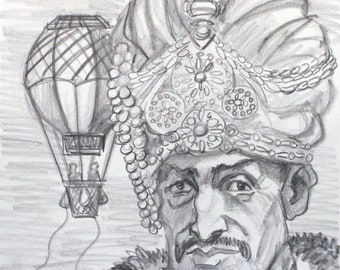 Fortunate, crayon on cotton paper, 9x12 inches by KennEy Mencher