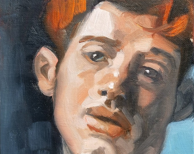 Sweet Ginger Morsel, oil on canvas panel 8x10 by Kenney Mencher
