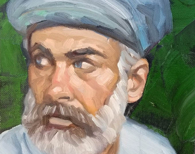 Civil Silver Engineer,oil on canvas panel, 8x10 inches by Kenney Mencher