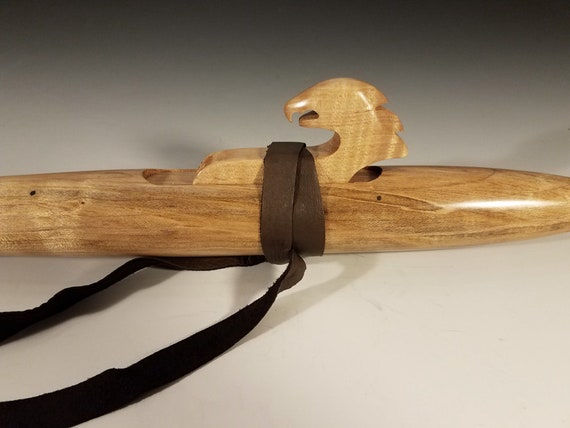 Native American Style Flute, Maple, mid F#