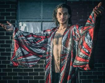 Solar Energy Sequin Kimono- (Multiple Colors) Burning Man Festival Ibiza  Costume 5e0ab8e96642