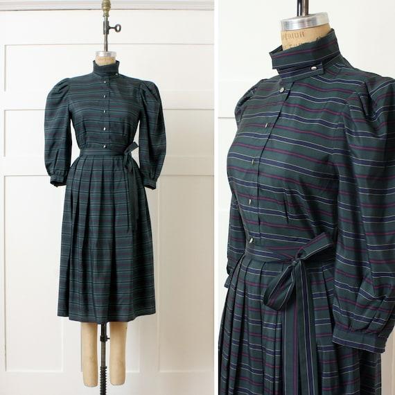 ON SALE designer vintage 1980s silk dress set • Ri