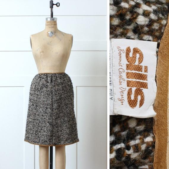 designer vintage 1960s Bonnie  Cashin SILLS skirt… - image 1