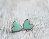 Heart Earrings /Stud