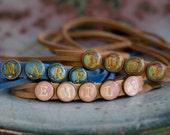 Wrap Bracelet -Personalized Gift -Name