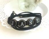 Wrap Bracelet -Personalized -Name