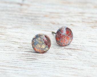 Stud earrings- Galaxy