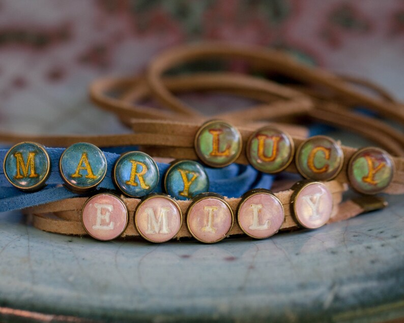 Wrap Bracelet Personalized Gift Name image 0