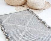 Moroccan Wool Rug - SHADAOUI Kilim - Diamonds