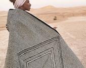 Large Moroccan Wool Rug - SHADAOUI Kilim - Diamonds 1