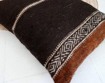 Giant Moroccan Kilim Floor Cushion -  SHADOUI Kilim