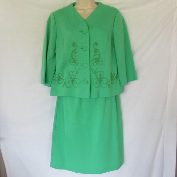 Vintage Claire Tiffany Traveler Jacket/Skirt - image 1