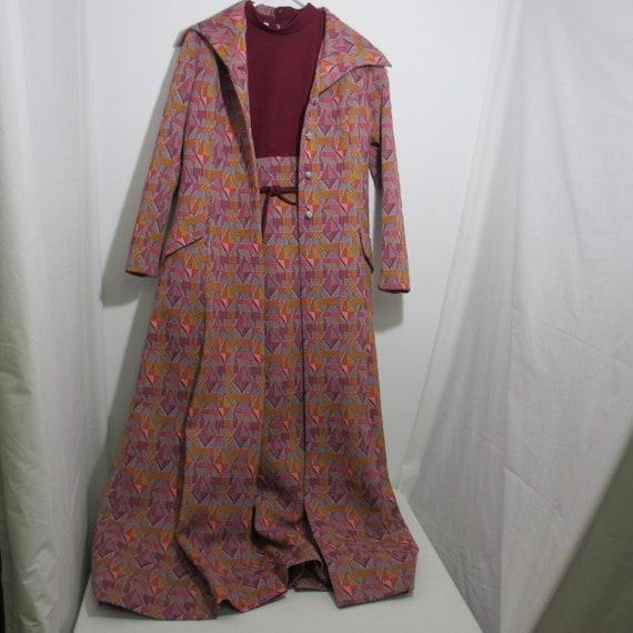 Vintage Custom Tailored Dress & Jacket By Nardis o