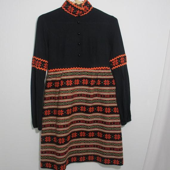 Darling Gay Gibson 1960's Winter Dress