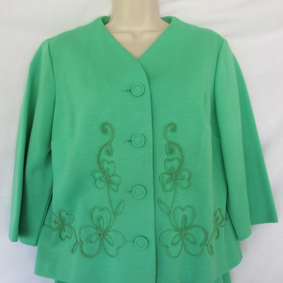 Vintage Claire Tiffany Traveler Jacket/Skirt - image 2