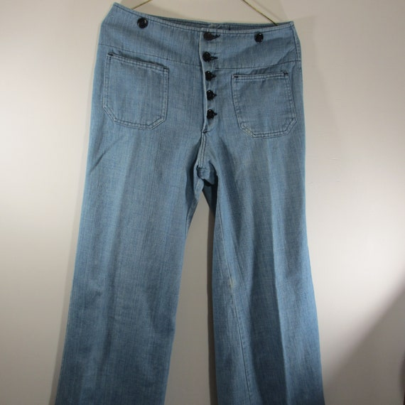 Vintage Male 1970's Bell Bottom Jeans
