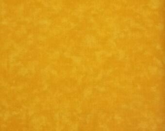 """Deep Golden Blender 108"""" wide back 100% cotton fabric"""