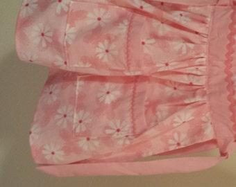 Pinafores - Pink Daisy