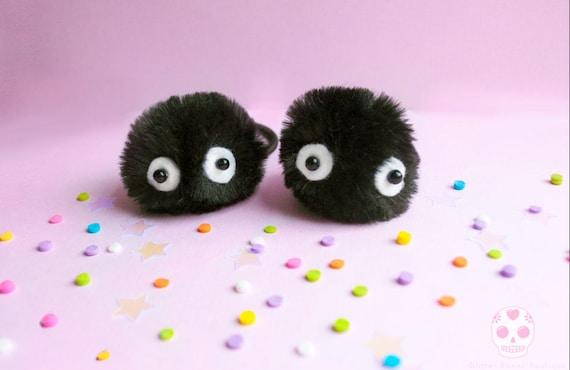 Roet Sprite Haarband Tie Totoro Haar Elastiek Accessoire Etsy